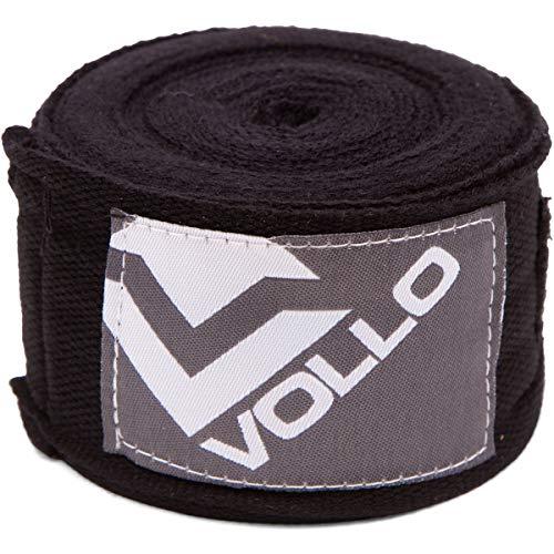 Bandagem Elastica, Vollo Sports, Preta