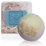 Night of Romance Giant XXLG 12 Ounce Fizzy Bath Bomb Featuring Real Dried Flower Petals by Cottage Lane