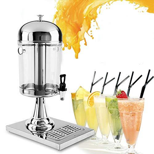 Dispensador de jugo 8L Dispensador de jugo de bebida gastro dispensador de Bebidas frías y dispensador de Agua