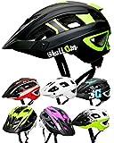Skullcap® Fahrradhelm & MTB Helm + Visier für Herren & Damen (fullTRAIL, M (55-58 cm))