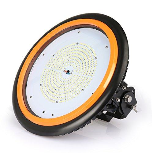 Anten UFO Projecteur LED 150W Industriel Phare de Travail Spot High Bay IP65 Économique d'Électricité Blanc Froid