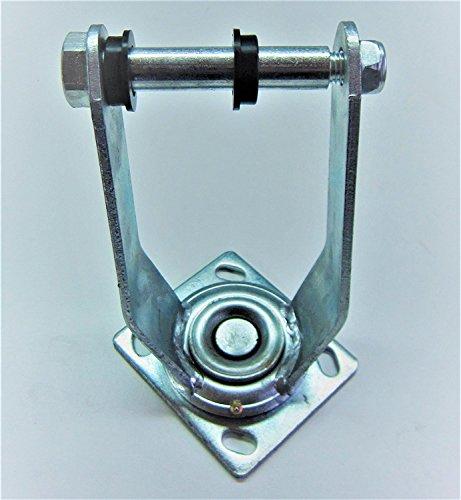 Support de roue pivotante de diable pour roue gonflables 260 mm (3,00-4\