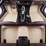HzvtCtarmsu Alfombrilla Piso del automóvil Alfombrilla de Cuero para el Piso Cobertura Completa de la Alfombra Delantera y Trasera para Mercedes Benz GLC 2006-2018