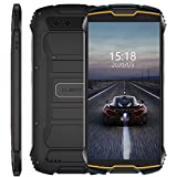 Cubot Kingkong Mini 4G Outdoor Smartphone ohne Vertrag, 4 Zoll Display Dual SIM Handy Wasserdicht, Stoßfest und Staubdicht, 3GB+32GB, Android 9, GPS+Kompass, 8MP Frontkamera/13MP Hauptkamera (Orange)