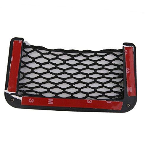 Générique Auto Car Vehicle Storage Mesh Résilient String Bag Holder Pocket Organizer