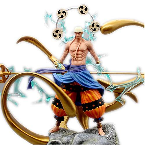Jaypar One Piece Figura Enel Figura Anime Figura Figura di Azione Large Size 2 Capo