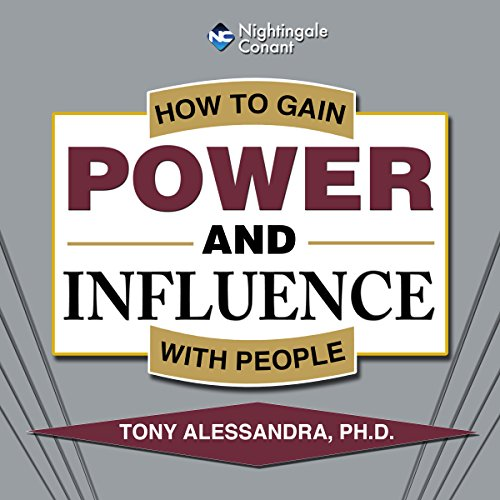 How to Gain Power and Influence with People audiobook cover art