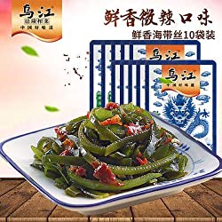 Chinese Food Snacks WuJiang Kelp silk HaiDai