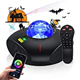 Smart Star Projector, WiFi Galaxy Light Projector for Bedroom Ocean Wave Night Light Projector with Adjustable...