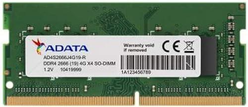 ADATA 4GB DDRA4 2666 Laptop Memory