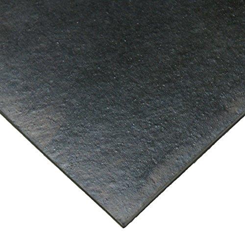 "Rubber-Cal - Neoprene - Commercial Grade - 60A - Rubber Sheet - 1/8"" Thick x 3ft Width x 6ft Length"