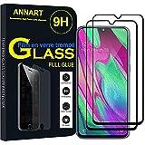 ANNART Protecteur d'écran pour Samsung Galaxy A40 5.9' SM-A405F [2 Pièces] Pleine Colle Verre...
