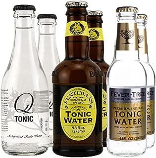 KegWorks, Premium Tonic Water Sample Pack - Set of 6 Bottles
