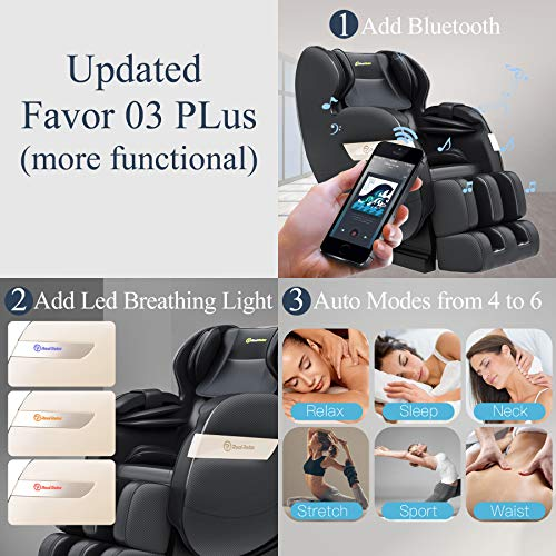 Real Relax Full Body Massage Chair Recliner Favour-03