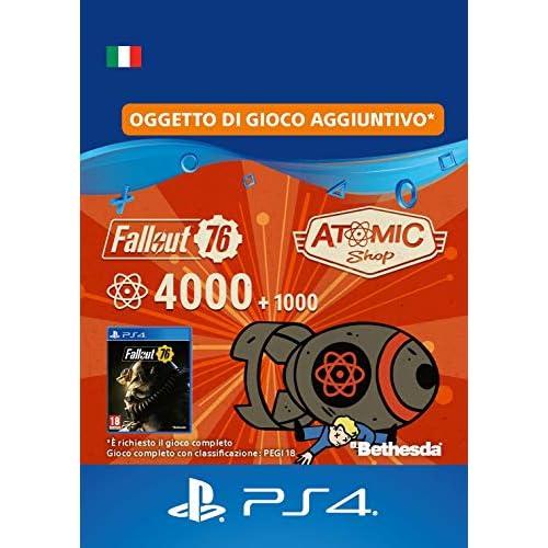 Fallout 76: 4000 (+1000 Bonus) Atoms - 4000 Atoms Edition | Codice download per PS4 - Account italiano