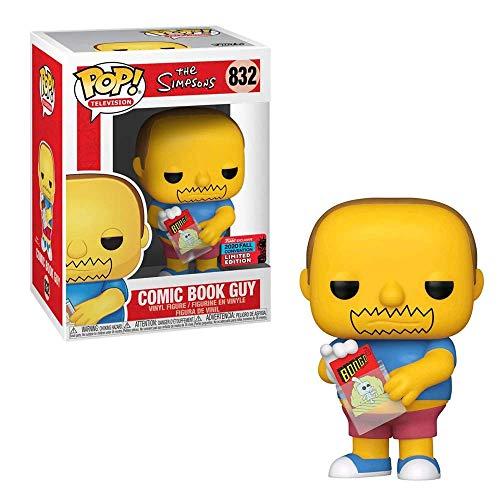 Funko Pop! Televisione: The Simpsons Comic Book Guy (Esclusiva per Il Regno Unito)