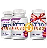 Revolyn Keto Burn - Pillola per Dimagrire in Modo Efficace | 3 flaconi...
