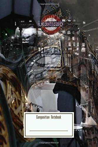 Composition Notebook: London Calling Workbook for Teens Kids Students Girls for Home School College