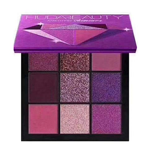 9-Farben-Lidschatten-Palette Earth Pearly Matte Combination Diamond Cosmetic Set