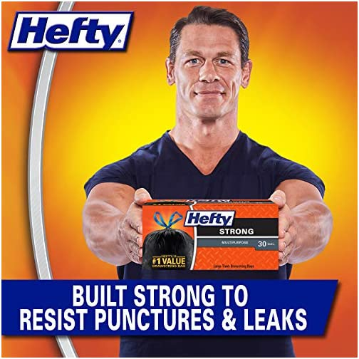 Hefty Strong Large Trash Bags, 30 Gal, 28 Count 4