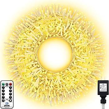 Knonew 394-Ft. LED String Lights with 8 Modes & Timer