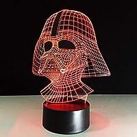 HOHHJFGG LEDナイトライトタッチセンサーUSBテーブルランプ3Dファントムライトベビー睡眠照明ギフト
