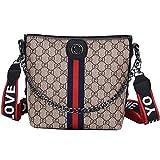 Lin&Da Damen Handtasche Schultertasche Crossbody Bag Koreanische modische Joker kreative hochwertige...