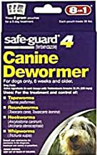 Eight in One Safeguard 4 Canine Dewormer for Medium Dogs -- 2 g - 3 Pouches