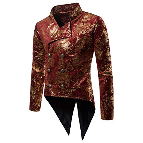 FRAUIT Heren Sakkos Men's pak jas Tuxedo Fashion for Party Handsome bovenstuk Charm Casual twee rijen Button Fit Suit Blazer Coat Jacket Autumn Winter