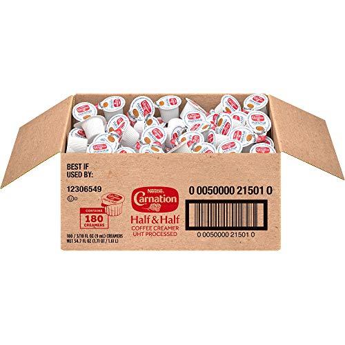 Nestle Coffee mate Carnation Liquid Creamer Singles (Pack of 180)