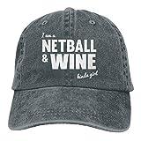 bowlife Netball and Wine Vintage Cowboy Baseball Caps Trucker Hats