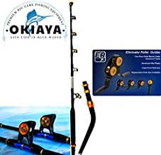 OKIAYA Venom PRO Bent Butt Fishing Rod 80-130 LB. The Monster PAC Bay Guides