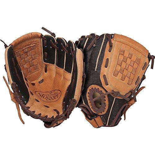 Louisville Slugger 9.5-Inch FG Genesis Baseball Infielders Gloves, Brown, Right Hand Throw