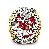 HZIH 2019-2020 Kansas City Super Bowl LIV Replica Chiefs Meisterschaft KC Ring MVP für Rugby-Fan-Andenken-Männer-Kollektion Geschenk,Without Box,12