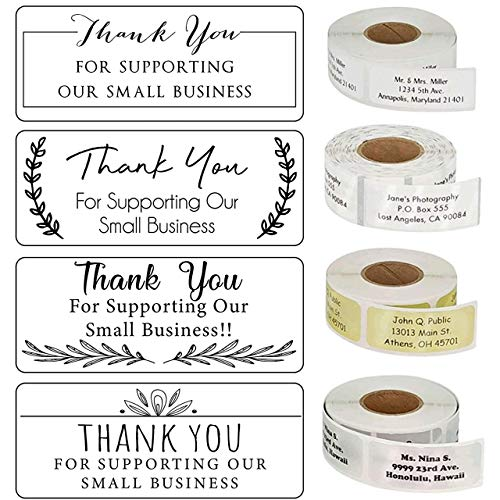 Custom Thank You Labels Stickers 10+ Designs to Choose! Handmade with Love Stickers Personalized Calligraphy Script Small Business Labels Customized Labels Wedding Labels Custom Stickers
