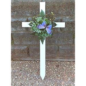 Cemetery Flowers, Memorial Cross
