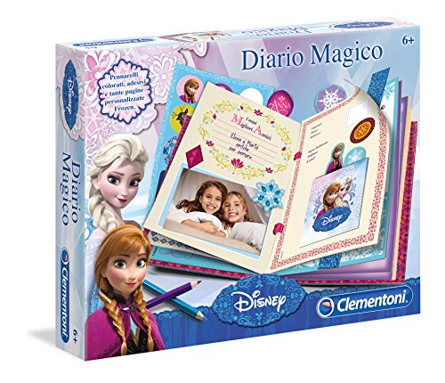 Clementoni 15216 - Frozen Diario Magico
