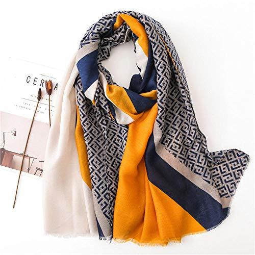 Schal Damen Lady Baumwolle Material Warmen Schal Mode Baumwolle Seide Schals Frauen Print Sonnenschutz Schal