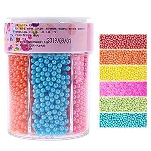 NOWON 110 / 220g pequeñas Cuentas de Perlas comestibles Caramelo azúcar Fondant Pastel DIY Hornear Chocolate decoración Colorida