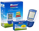 Mission 3 en 1 - Indicateur Cholesterol, LDL, HDL et Triglycérides + 5 Dispositifs de Test