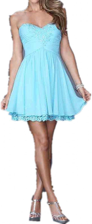 Avril Dress Sweetheart Aline Mini Empire Homecoming Bridesmaid Dress