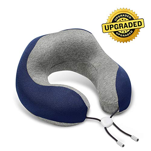 Phixnozar Travel Pillow 100% Memory Foam –Neck Pillow, Ideal for...