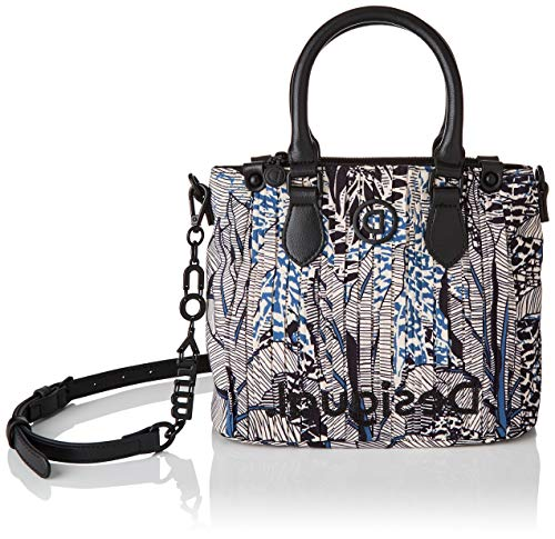 Desigual Womens Accessories Handbag Main en tissu Blanc
