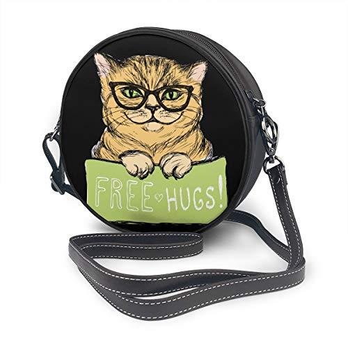 Süße Katze mit einem Schild