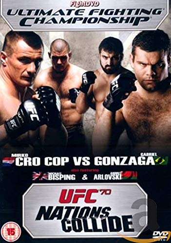 Photo of UFC Ultimate Fighting Championship – 70: Nations Collide [DVD]