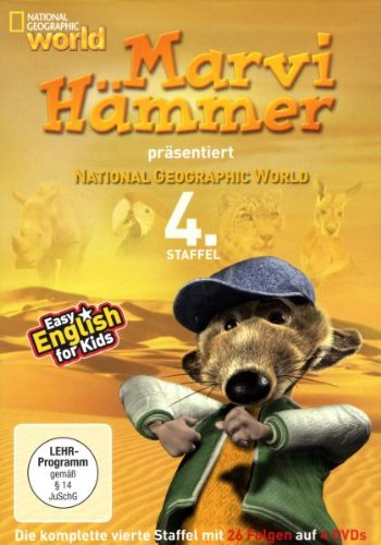 Marvi Hämmer präsentiert: National Geographic World, 4. Staffel [4 DVDs]