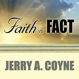 Faith Versus Fact audiobook cover art