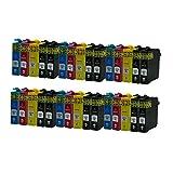 ZYL - Cartuchos de Tinta de Repuesto compatibles con Epson 18XL XP-102 XP-212 XP-33 XP-225 XP-322 XP-325 XP-422 XP-305 XP-402 XP-405 XP-405WH XP-312 XP-425 XP-205 XP-212 XP-30 XP-302