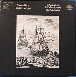 CANADIAN FOLK SONGS; Chansons Folklorique Du Canada. 9 LP Box Set & Book.