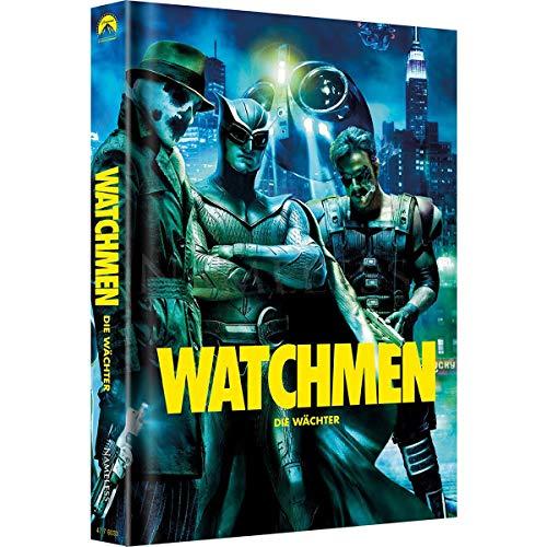 WATCHMEN - 4 Disc Artwork Mediabook inkl. Ultimate Cut - 500 Stk. limitiert - DVD - Blu-ray